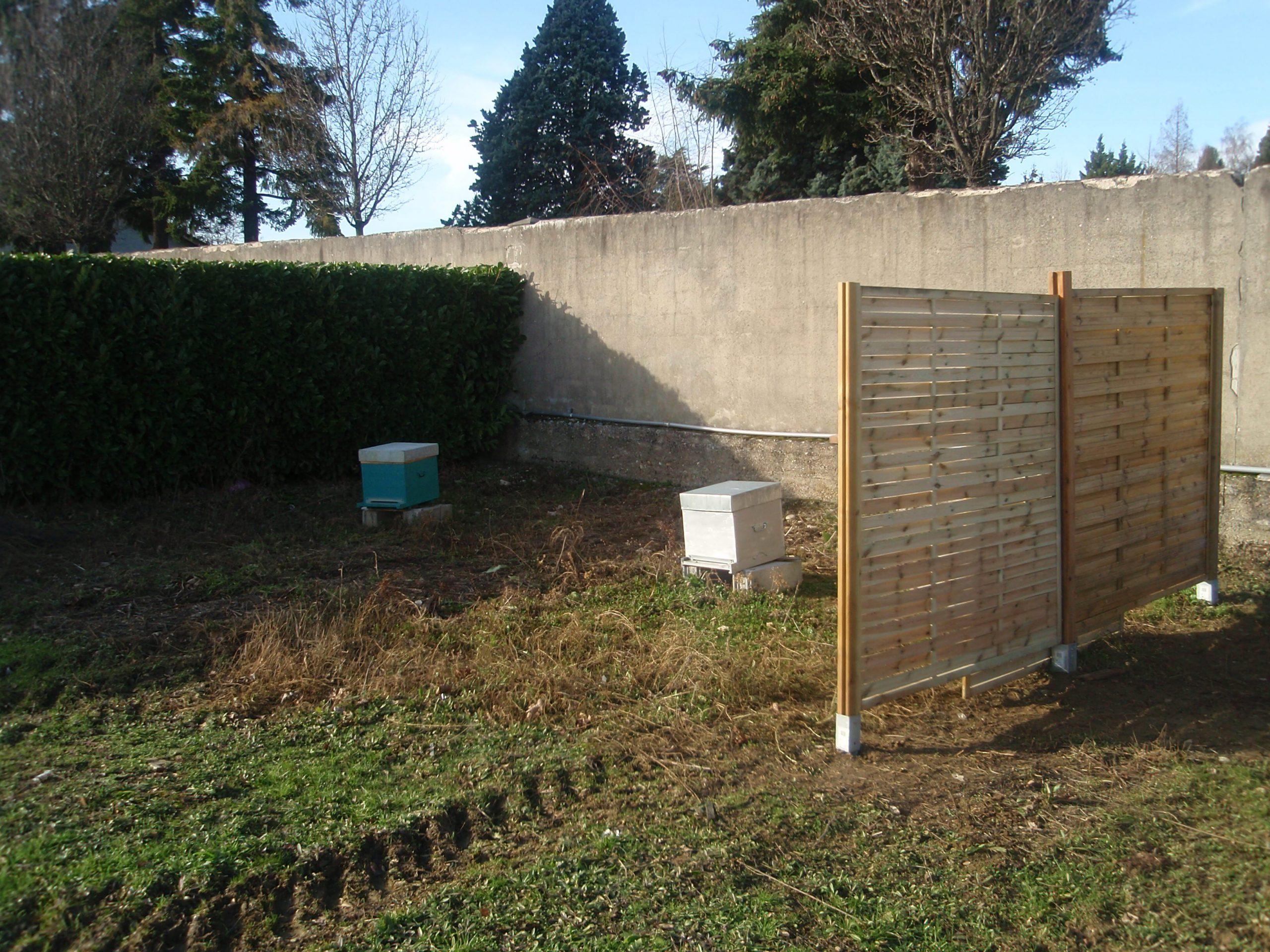 Panneau Bois Cloture Pas Cher Luxe Panneaux De Jardin Pour ... tout Panneau Occultant Jardin Pas Cher