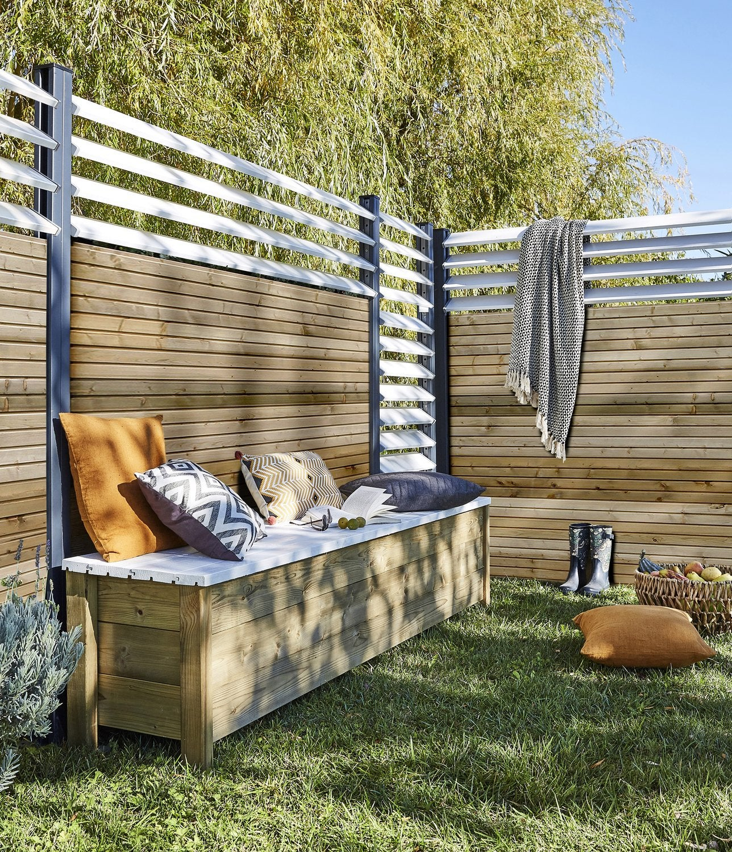 Panneau Bois, Idéal Pour Bien Clôturer Son Jardin | Leroy Merlin concernant Panneau En Bois Pour Jardin