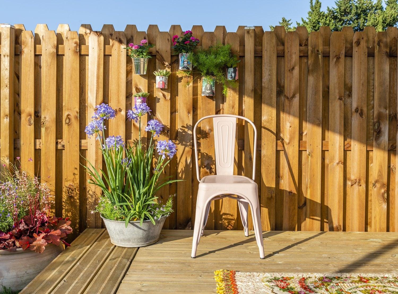 Panneau Bois, Idéal Pour Bien Clôturer Son Jardin | Leroy Merlin pour Barrière Bois Jardin