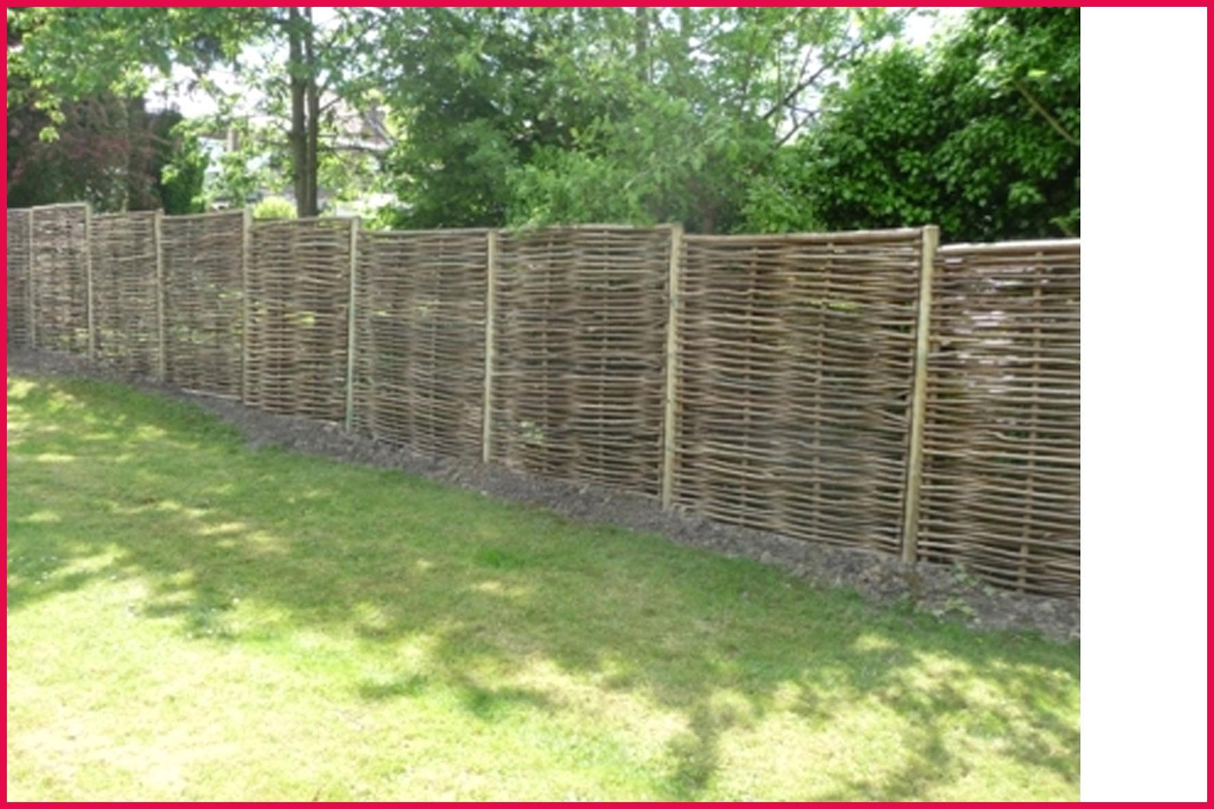 Panneau Bois Jardin Cloture De Rigide Chic Occultant Pas ... à Cloture De Jardin Pas Cher