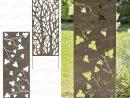 Panneau Décoratif En Métal 0.6M X 1.5M | Cloture | Panneau ... concernant Panneau Jardin Pas Cher