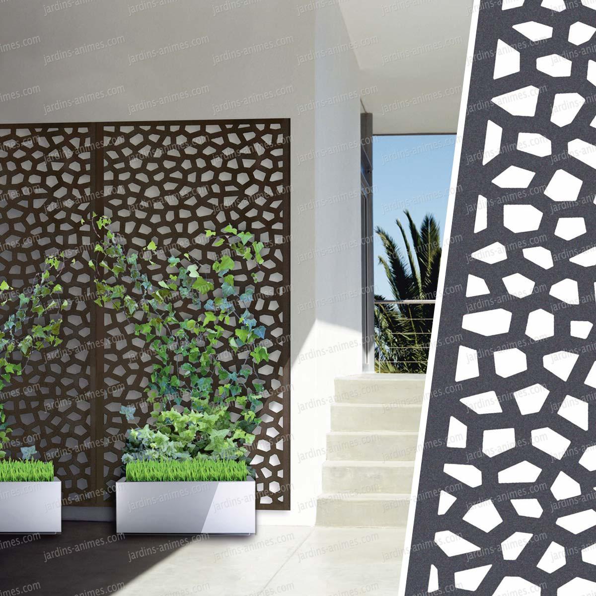 Panneau Décoratif Mosaic 1M X 2M En Résine Haute Qualité tout Panneau Separation Jardin