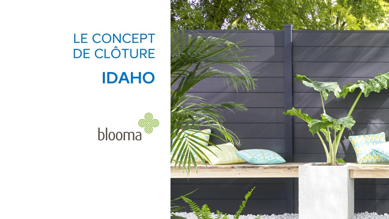 Panneaux De Jardin Composables Idaho Blooma (619652) Castorama pour Cloture Jardin Castorama