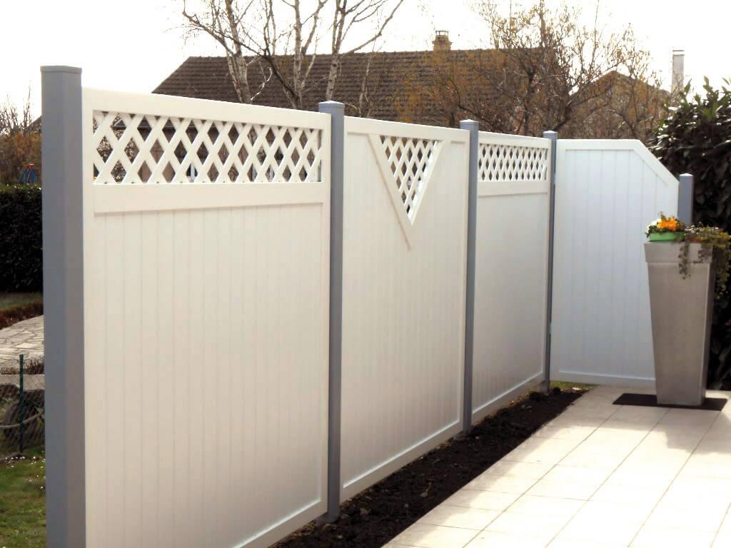 Panneaux - Pare-Vue - Aluminium - Bois - Composite - Habsheim tout Panneau Pvc Jardin