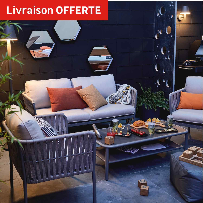 Parasol Leroy Merlin Sur Iziva - Iziva avec Salon De Jardin Leroy Merlin Promo