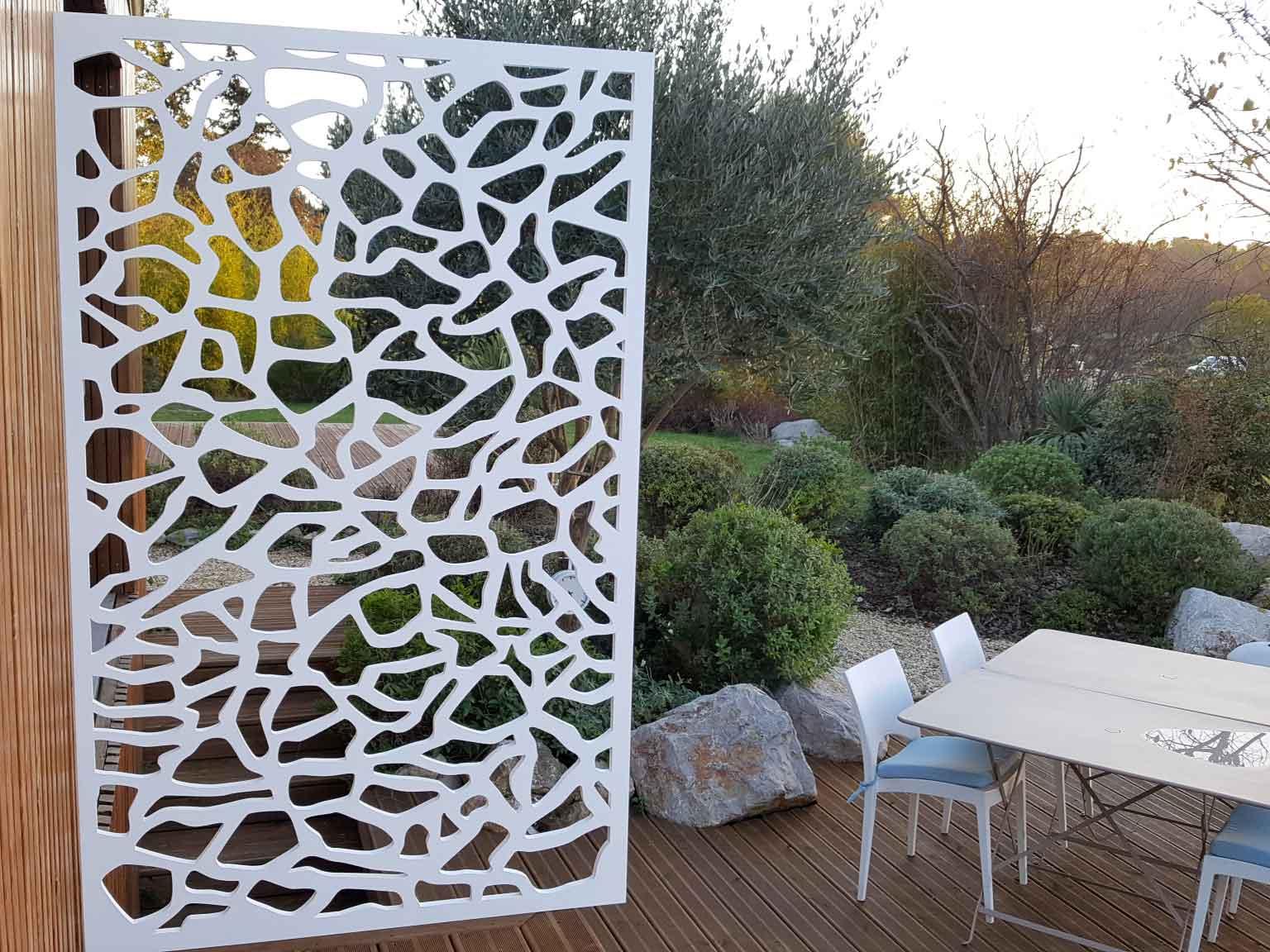 Paravent De Terrasse Extérieur : Les Créations Allure Et Bois ! à Paravent De Jardin