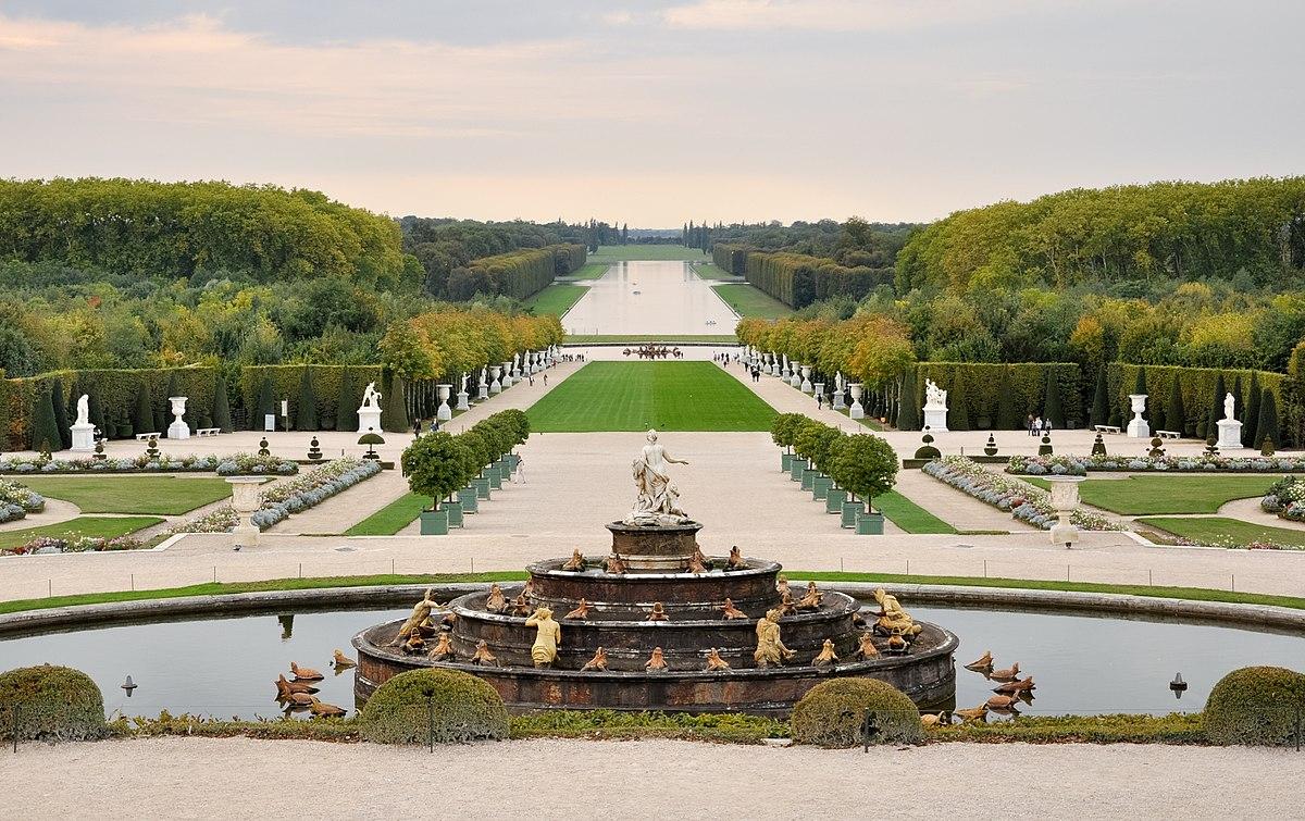 Parc De Versailles — Wikipédia concernant Jeux D Eau Jardin