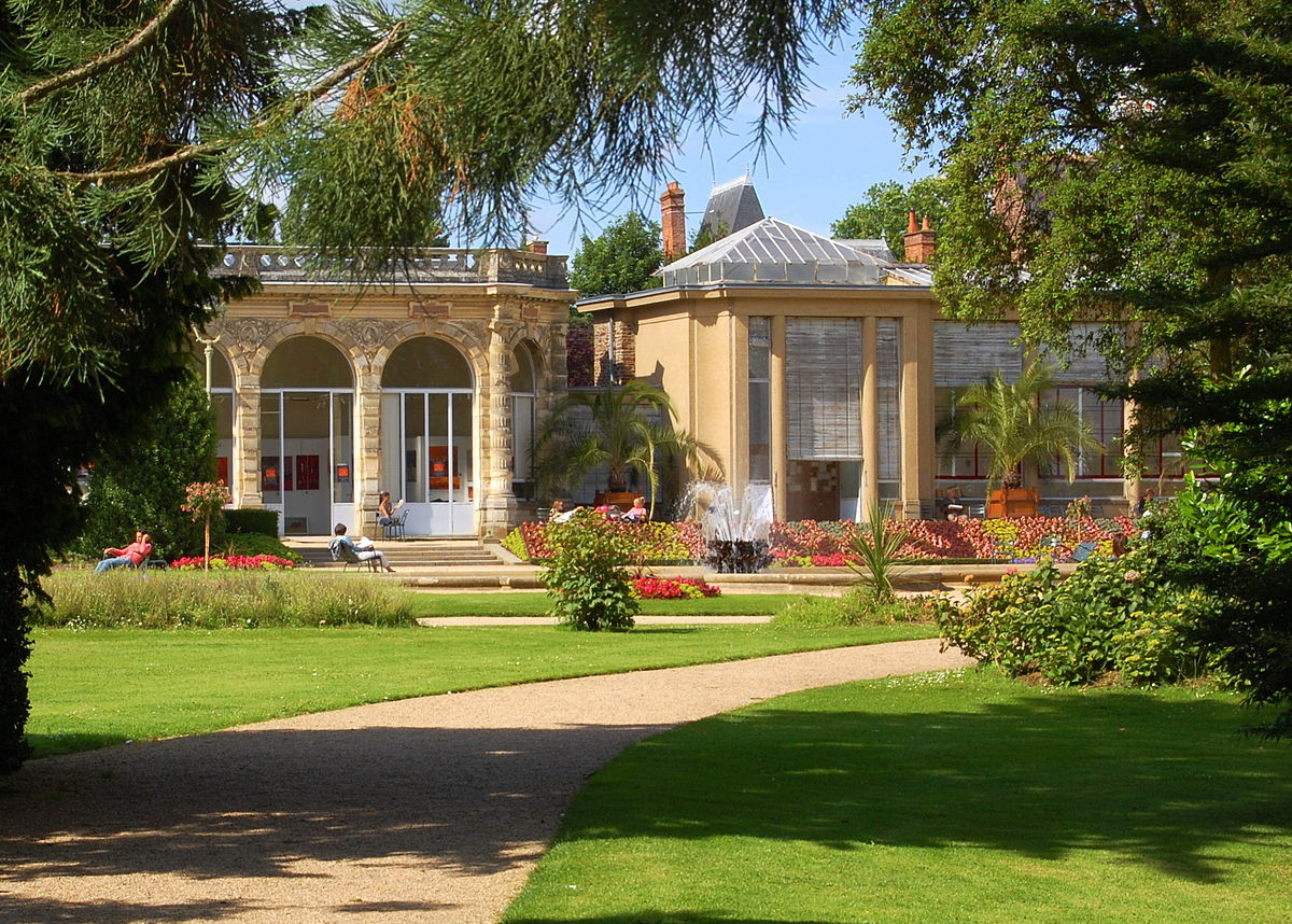 Parc Du Thabor — Wikipédia destiné Fontaine Naturelle Jardin