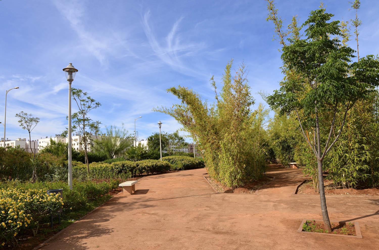 Parc Le Mail Central De Sala Al Jadida dedans Les Jardins D El Jadida