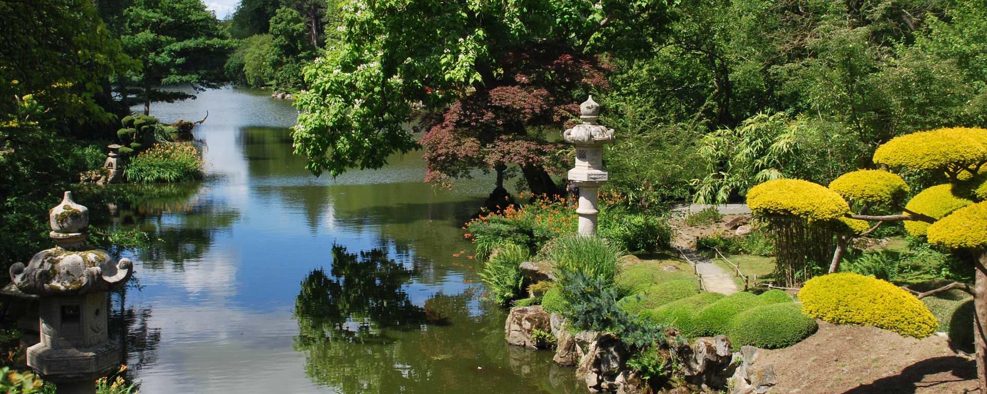 Parc Oriental De Maulévrier - Jardin Japonais : Sommaire ... serapportantà Fontaine Naturelle Jardin