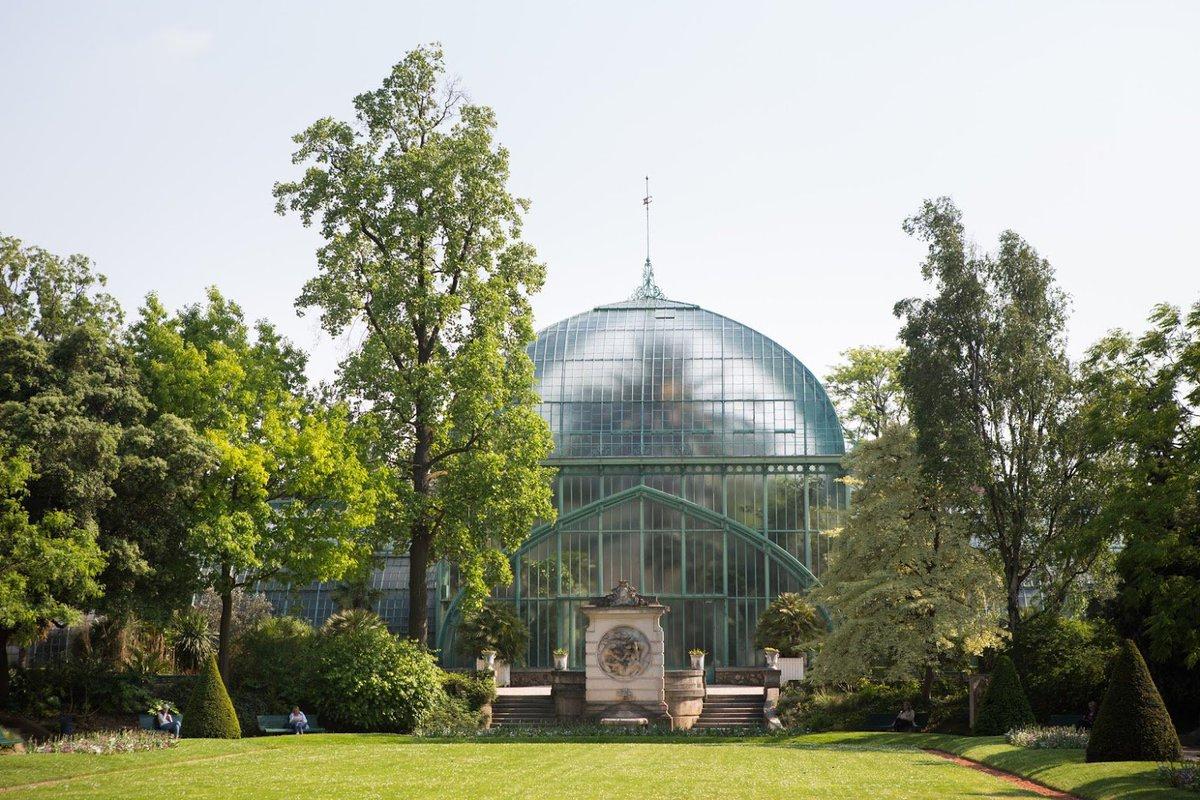 """Paris A Twitter: """"a L'occasion Des Journées Européennes Du ... intérieur Serre De Jardin Occasion"""