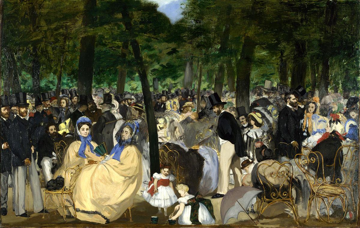 Paris During The Second Empire - Wikipedia destiné Salon De Jardin D Occasion