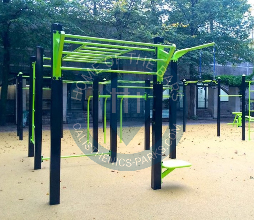 Paris - Parc Street Workout - Parc De Bercy - France - Spot concernant Barre De Traction Jardin