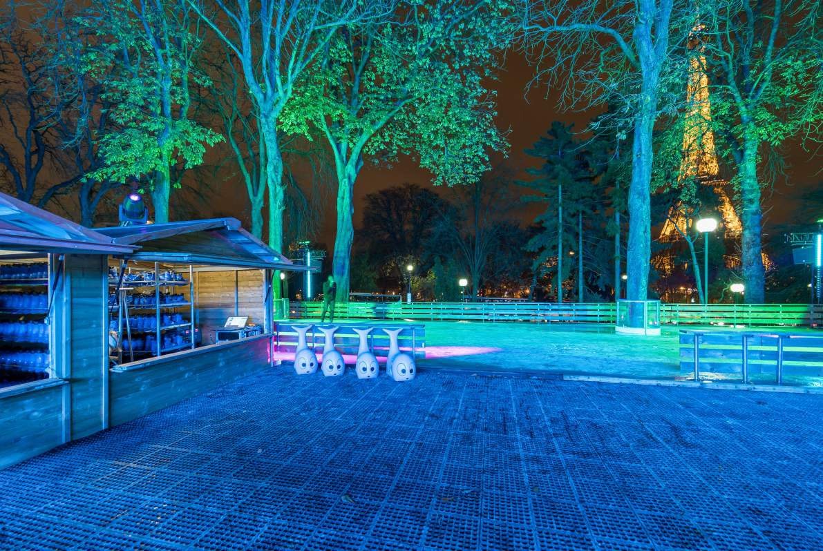 Patinoires À Paris - Grand Palais, Tuileries, Galeries ... serapportantà Prix Location Jardin