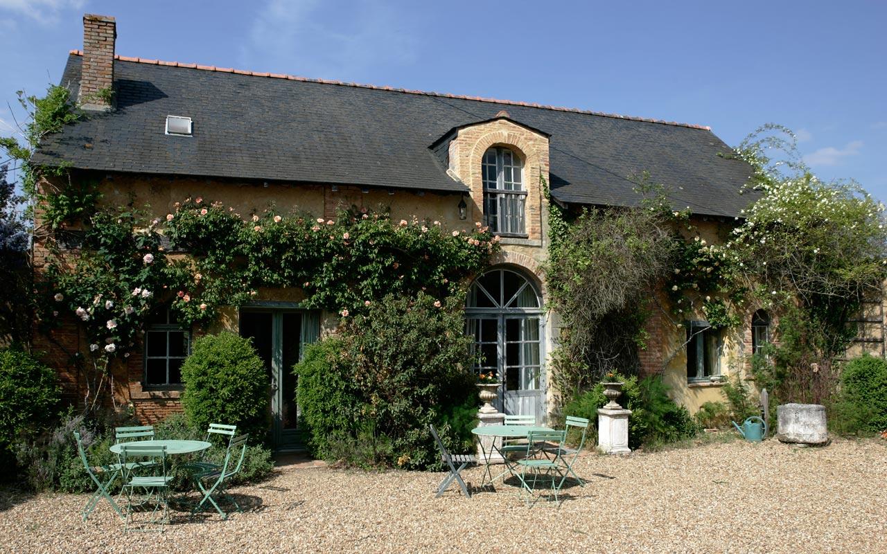 Pays De La Loire Location Maison De Charme Angers Avec Jardin Privatif Dans  Le Parc D'un Chateau concernant Location Maison Avec Jardin Ile De France