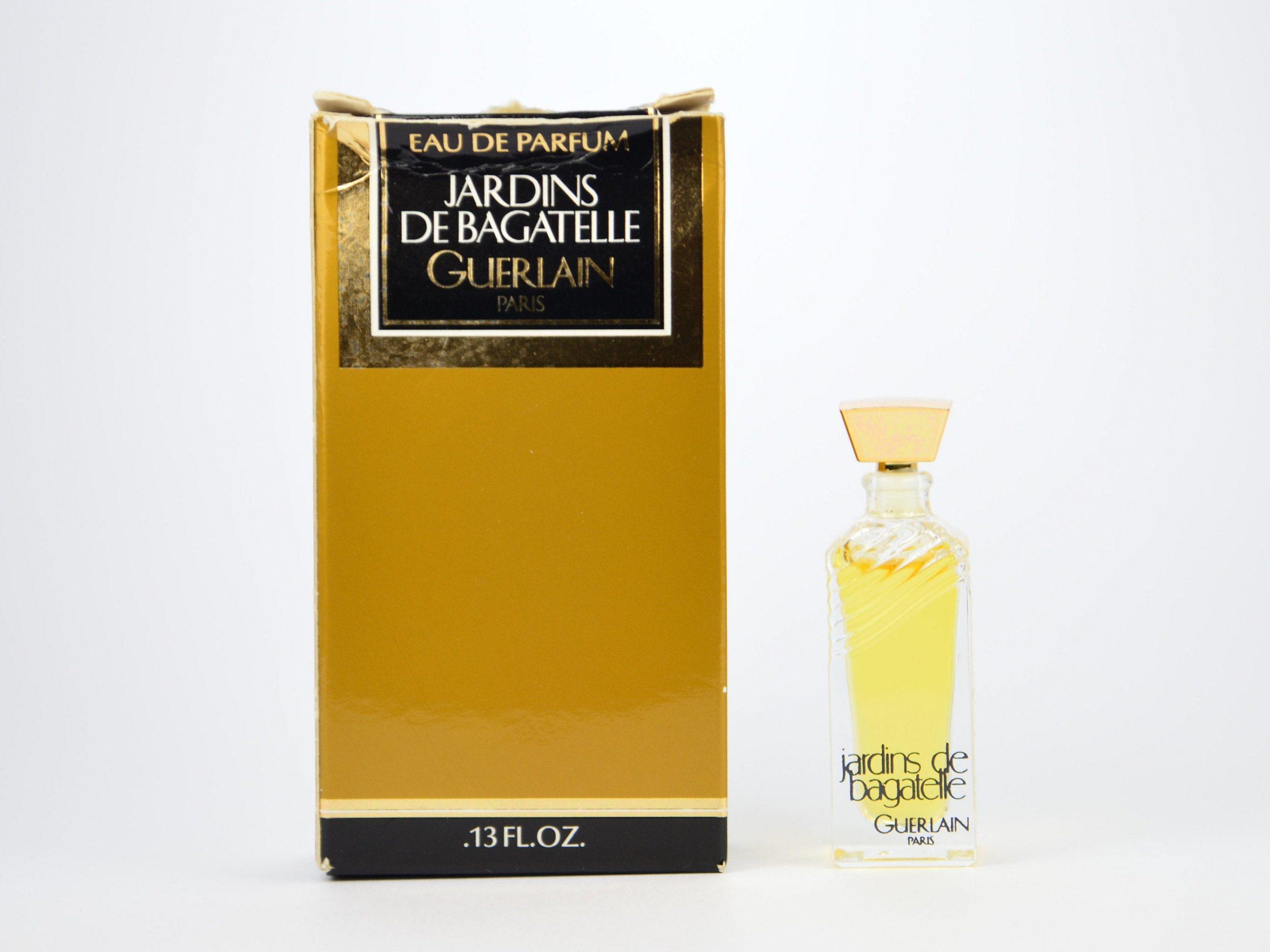 Perfume Vintage Mini Eau De Parfum Jardins De Bagatelle Guerlain Paris 4 Ml  0.13 Fl. Oz. Miniature Ladies intérieur Jardin De Bagatelle Guerlain