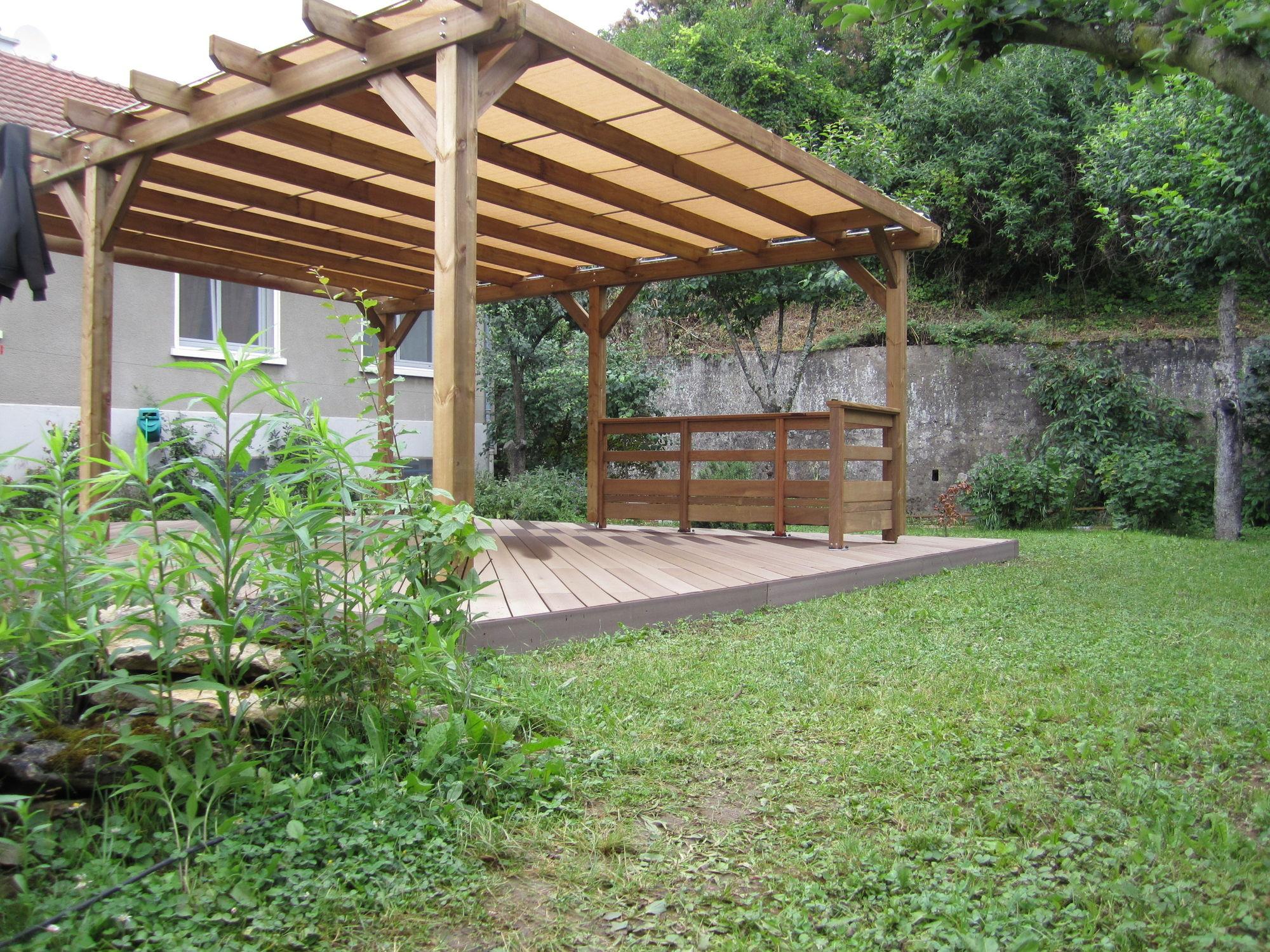 Pergola De Jardin Hossegor pour Paillote Jardin