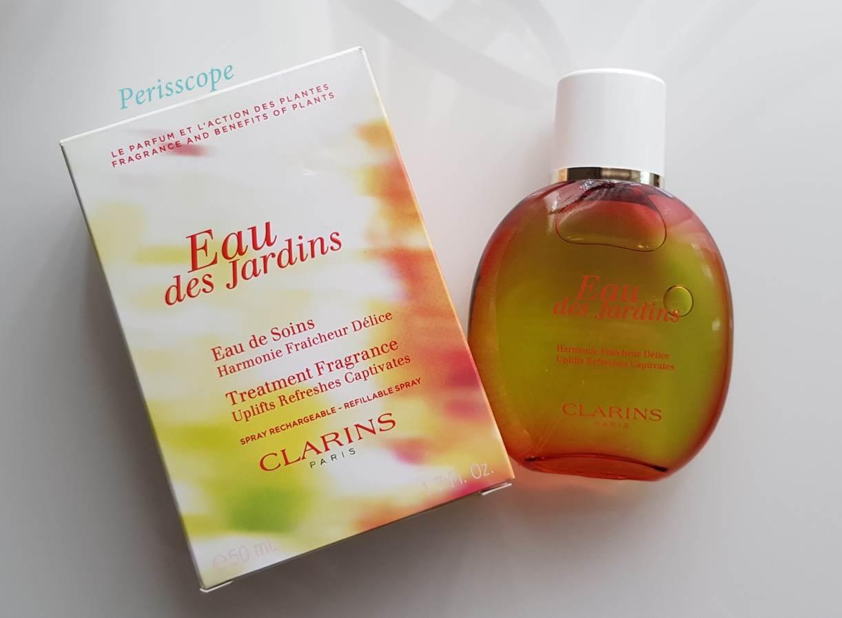 Perisscope: Clarins Eau Des Jardins - Eau Des Jardins ... serapportantà Eau De Jardin Clarins