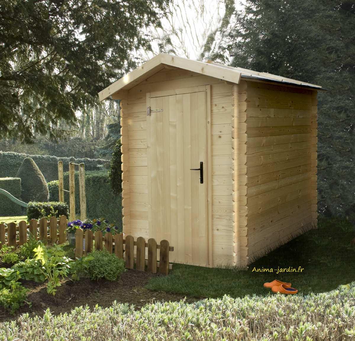 Petit Abri Jardin, 19Mm, Bex, 2.43M², Pas Cher, Vélo ... serapportantà Abri Jardin Bois Soldes