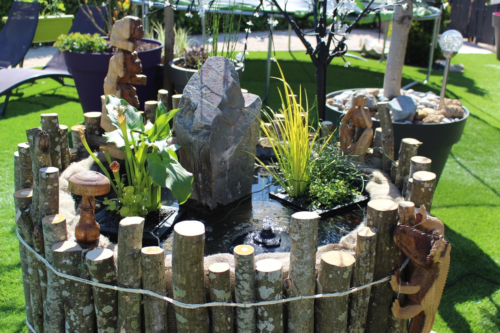 Petit Bassin Pour Petit Jardin - Du Jardin A La Terrasse serapportantà Bassin Pour Petit Jardin