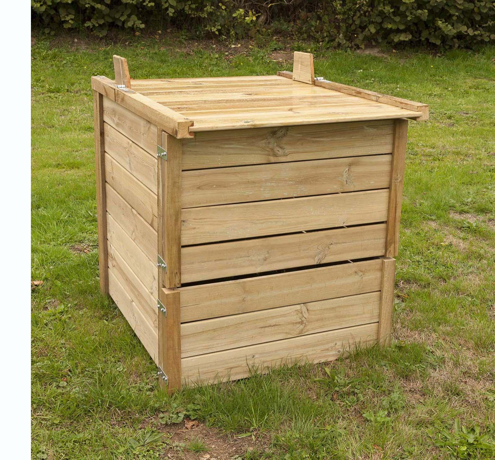 Petit Composteur : De Grands Avantages ! - Jardindeco dedans Composteur De Jardin