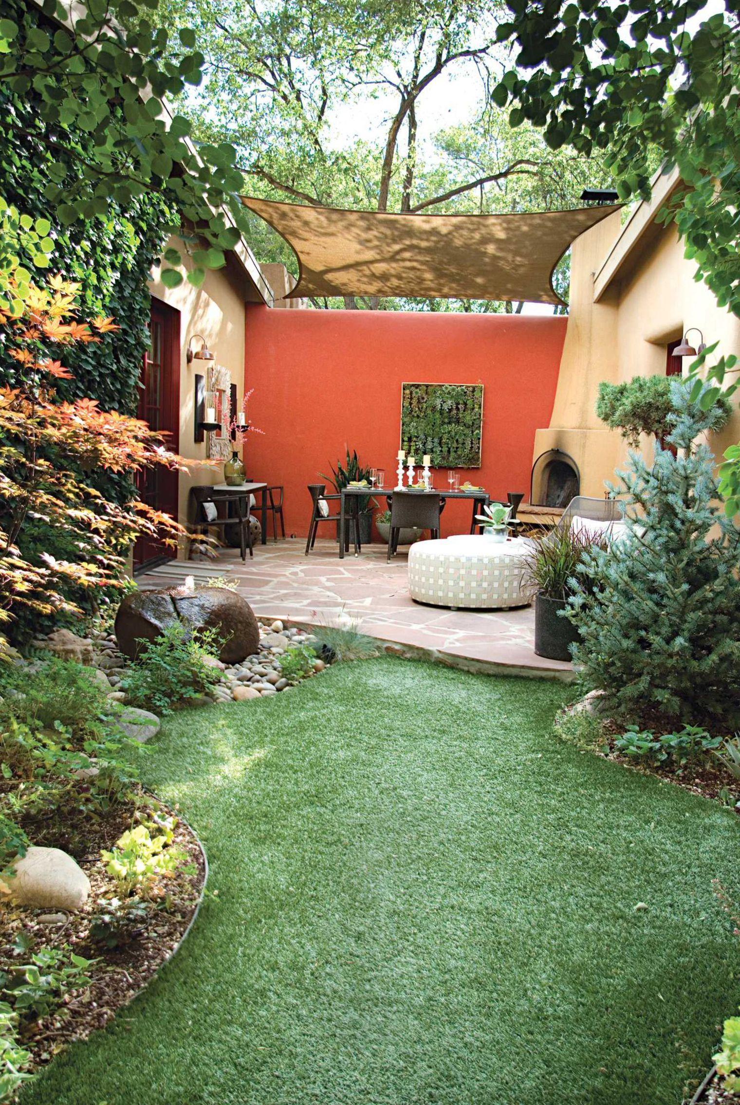Petit Jardin : 8 Aménagements Repérés Sur Pinterest ... concernant Amenagement Petit Jardin Mediterraneen