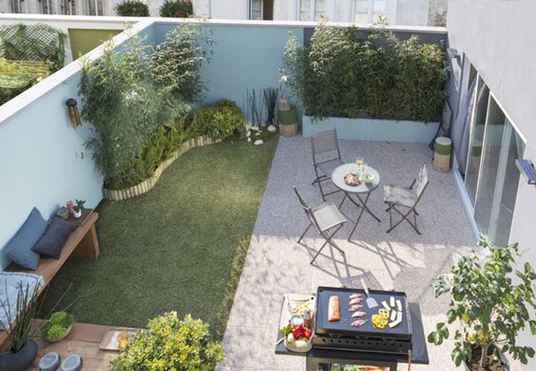 Petit Jardin : Quel Aménagement Choisir ? concernant Comment Creer Un Jardin Paysager