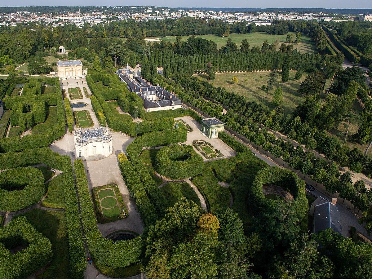 Petit Trianon — Wikipédia concernant Point P Bordures De Jardin