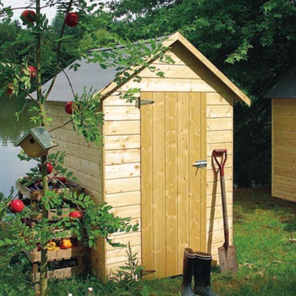 Petite Cabane Jardin Étroite | Abri De Jardin, Abri De ... avec Petit Chalet De Jardin