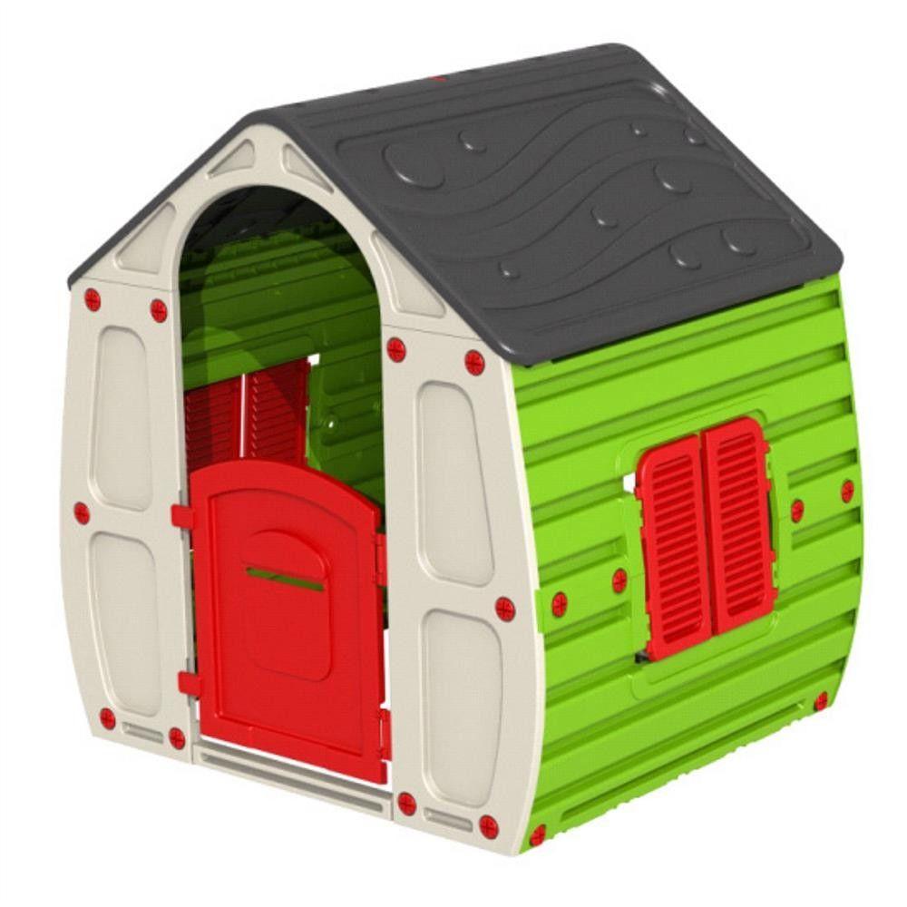 Petite Maison Pour Enfant 90X102Xh109Cm En Résine Colorée Jardin Extérieur  1056 encequiconcerne Maison De Jardin Pour Enfant