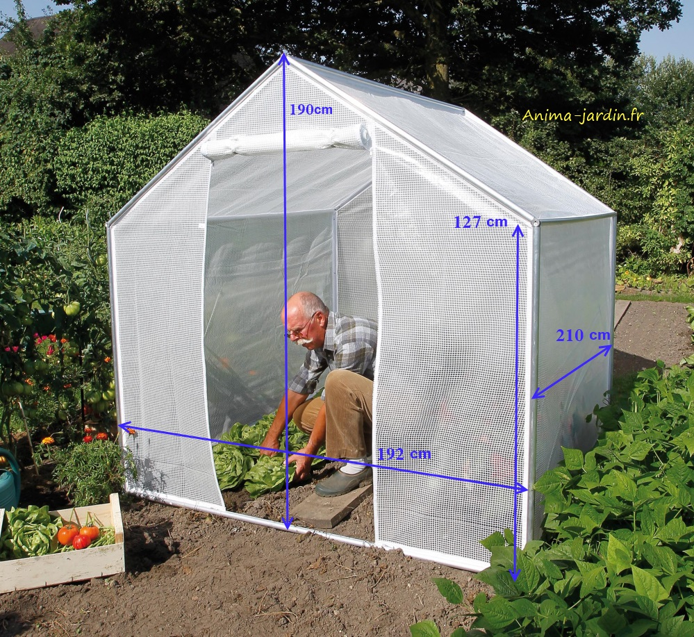 Petite Serre De Jardin, 4M², Pour Cultiver Ses Légumes, Pas ... encequiconcerne Petite Serre De Jardin Pas Cher