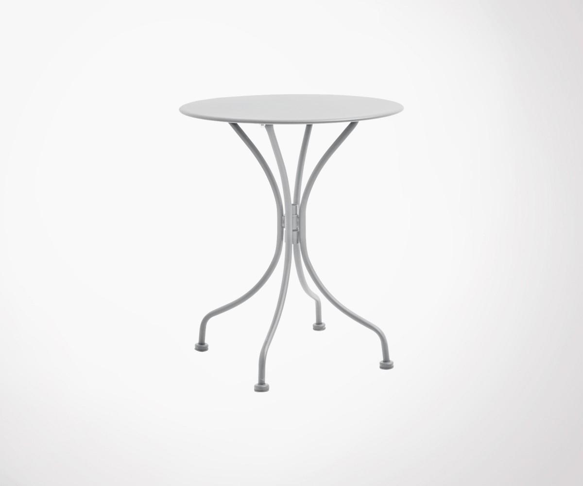 Petite Table De Jardin Design Ronde 70Cm Marque Nordal dedans Petite Table Ronde De Jardin