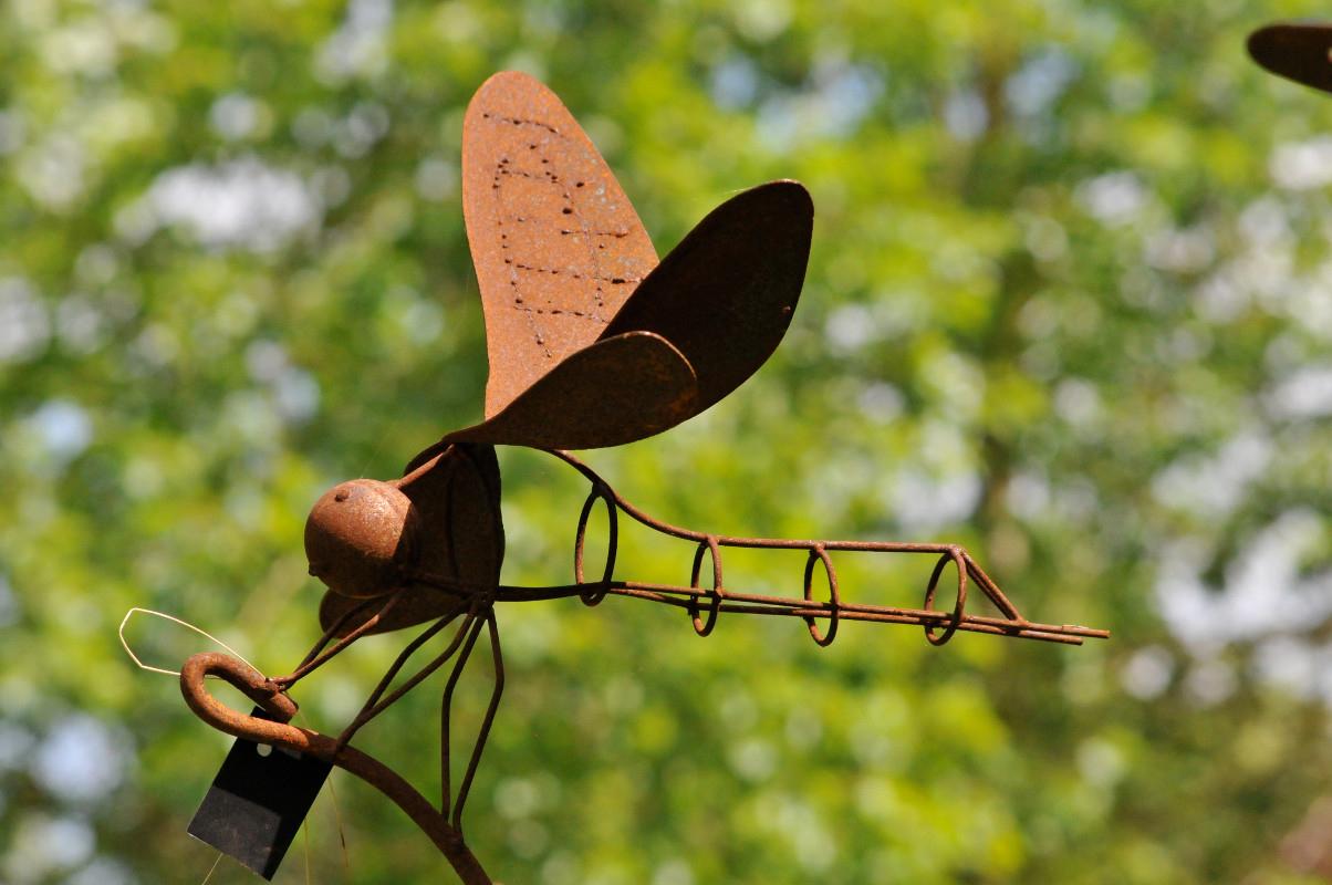 Pierre Lhoas - Les Jardins De Vertumne - Ferronnerie D'art à Animaux Fer Forgé Jardin