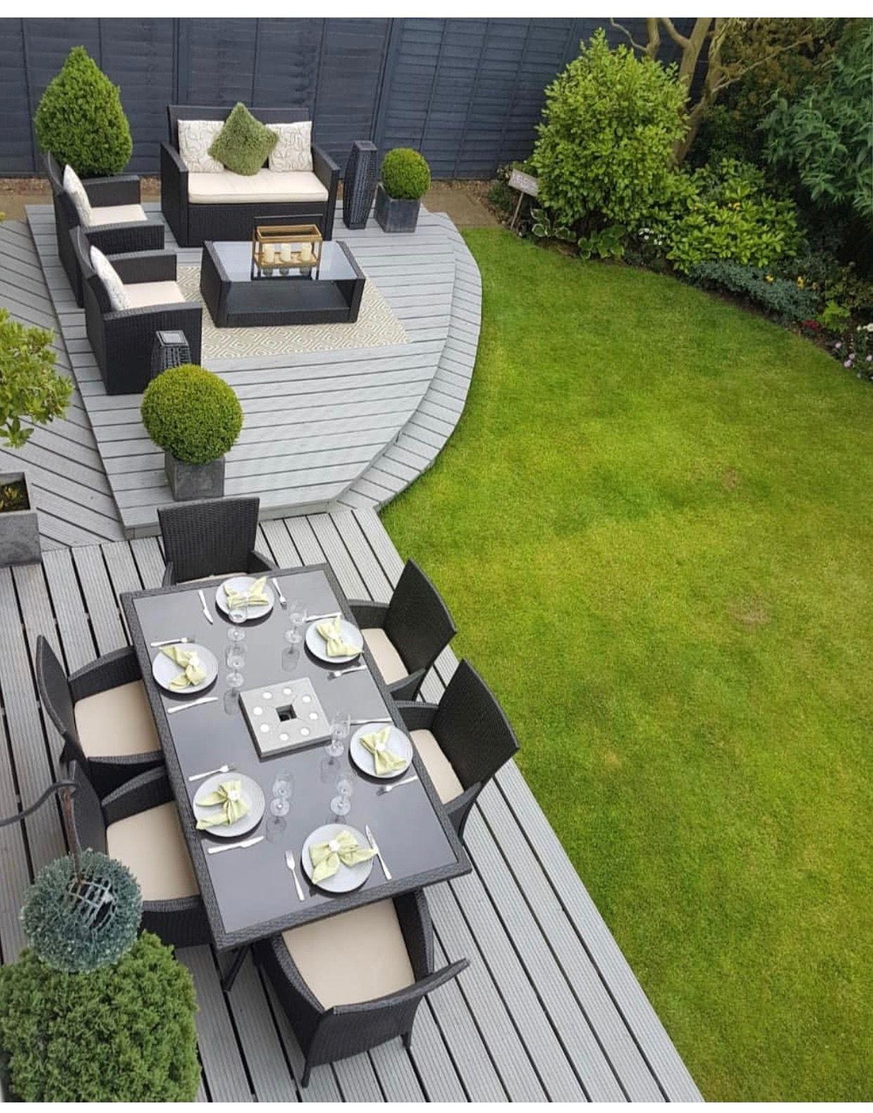 Pin By Carine Bon Coin On Petits Jardins | Small Backyard ... avec Bon Coin Table De Jardin