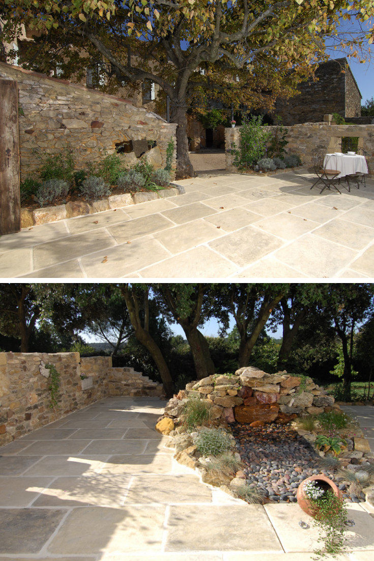 Pin By Victoria Keane On Casares Garden. In 2020 | Concrete ... avec Bordure Jardin Beton Ton Pierre
