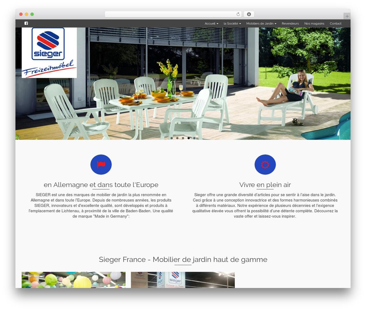Pinnacle Best Wordpress Theme By Kadence Themes - Mobilier ... destiné Salon De Jardin Marque Jardin