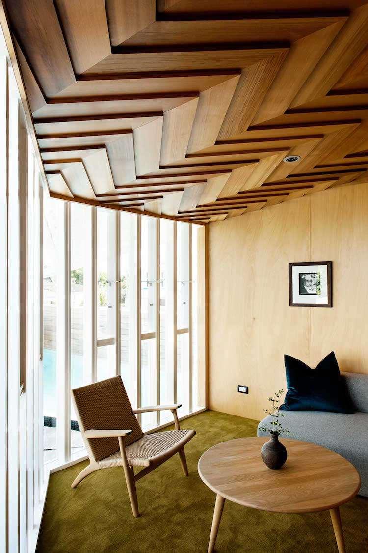 Plafond Moderne Chambre Et Salon : La Déco En Placoplatre ... dedans Salon De Jardin Lumineux