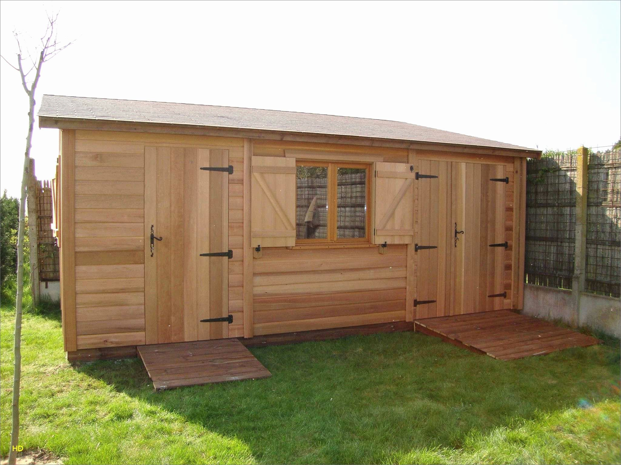 Plan Abri De Jardin En Bois 1 Pente Lovely Luxe Plan Abri De ... tout Plan Cabane De Jardin