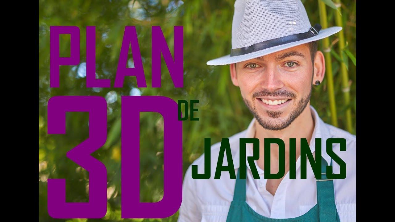 Plan De Jardin 3D Avec Le Logiciel Gratuit Pour Créer Votre ... concernant Créer Son Jardin En 3D Gratuit