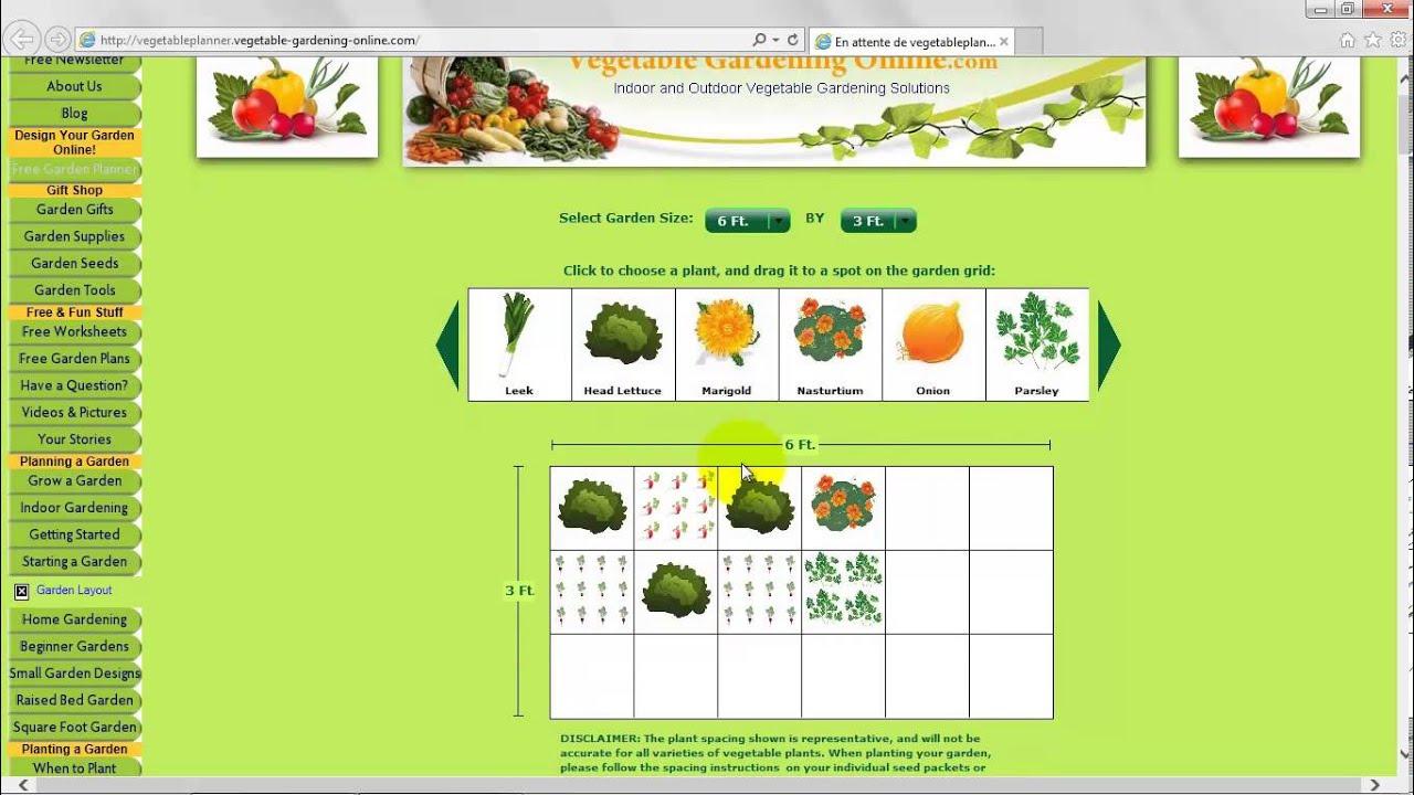 Plan Potager Online pour Plan Jardin Potager Bio