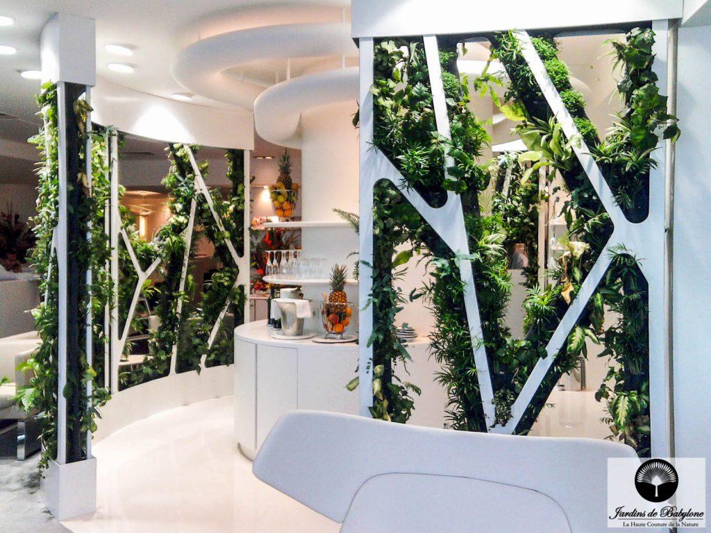 """Plant Screen : The """"Grand Large"""" Lounge At Corsairfly tout Paravent De Jardin"""