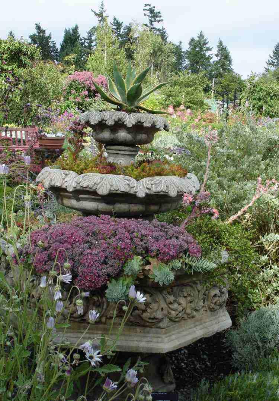 Plantes Et Aménagement Jardin Méditerranéen – 79 Idées intérieur Exemple De Jardin Méditerranéen