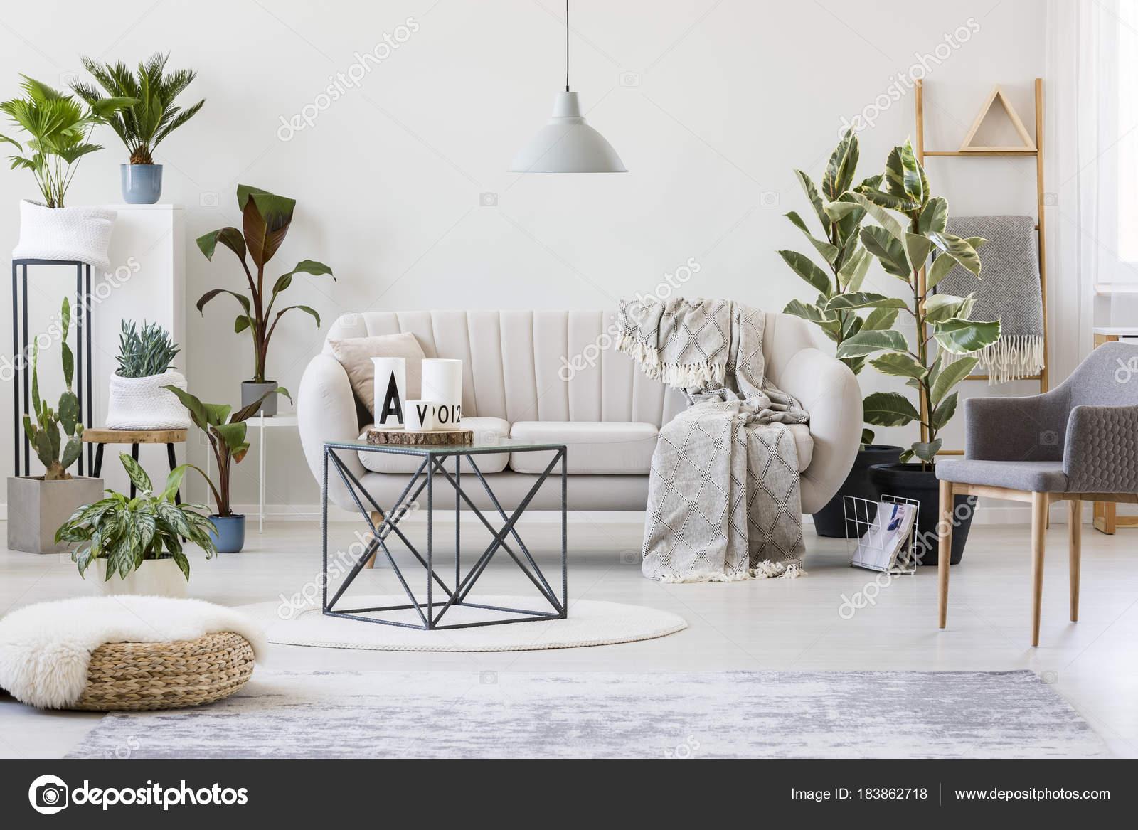 Plants In Botanic Living Room — Stock Photo © Photographee ... intérieur Botanic Salon De Jardin