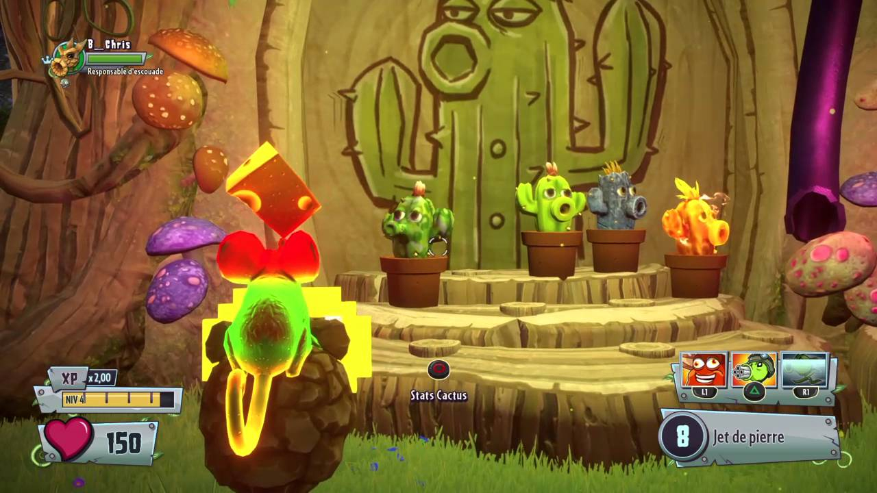 Plants Vs Zombies Gw2 Le Secret Des Nains De Jardin #1 - serapportantà Nain De Jardin Zombie