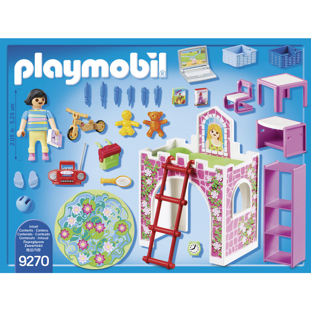 Playmobil® 9270 Chambre D'enfant - Playmobil - Unigro.be destiné Grand Jardin D Enfant Playmobil