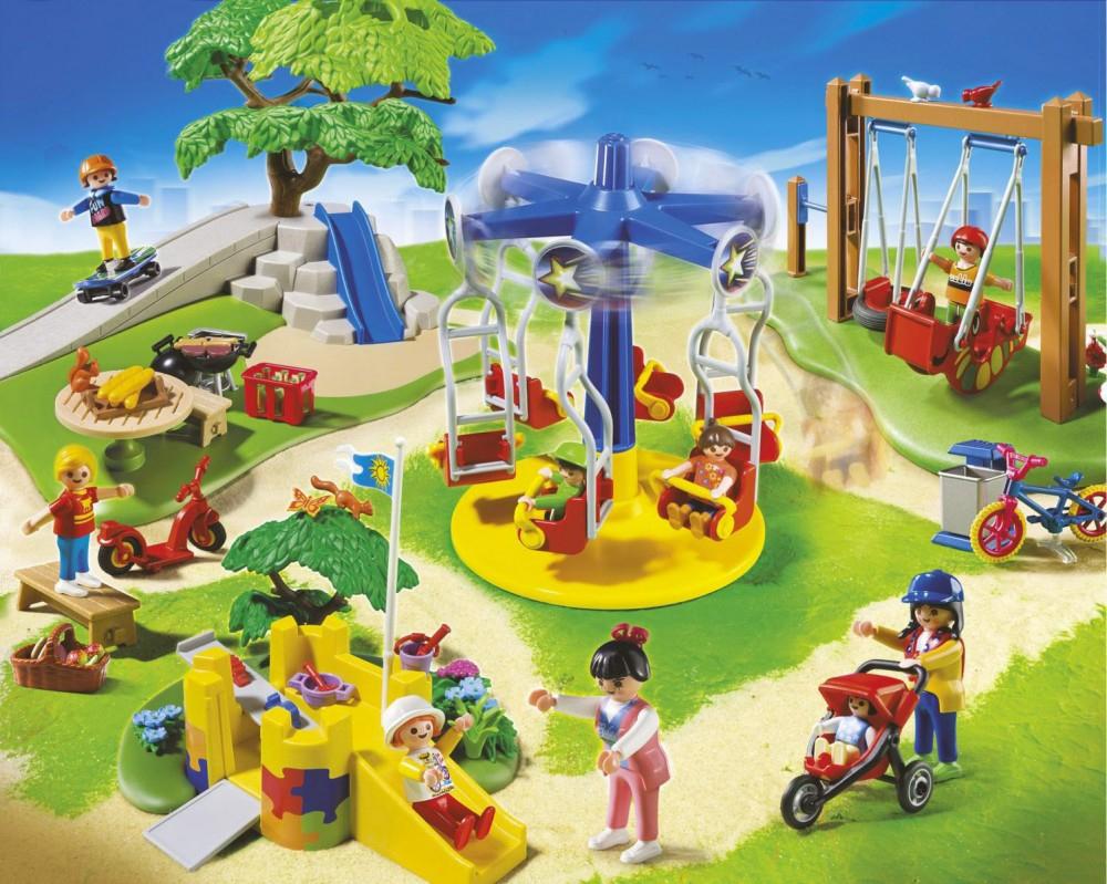 Playmobil City Life 5024 Grand Jardin D'enfants encequiconcerne Playmobil Jardin D Enfant