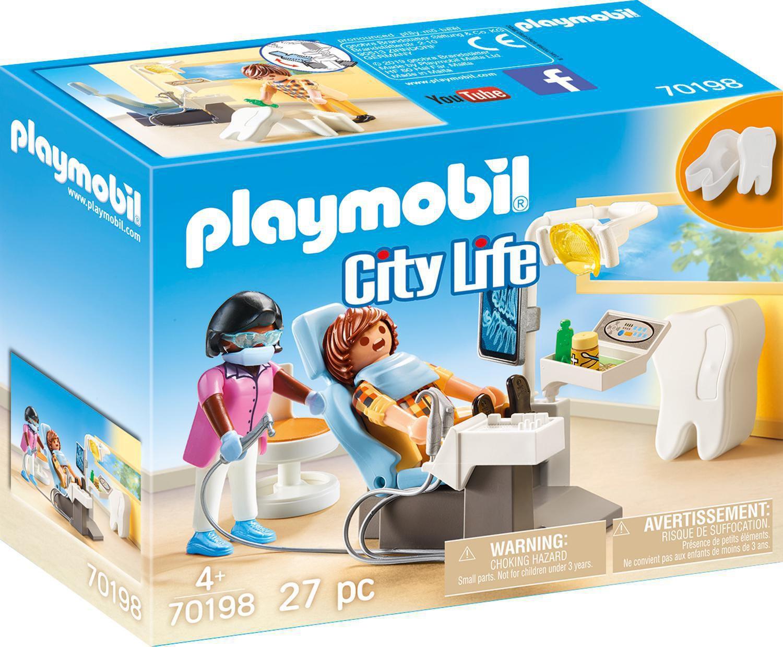 Playmobil City Life Dentiste 70198 intérieur Grand Jardin D Enfant Playmobil