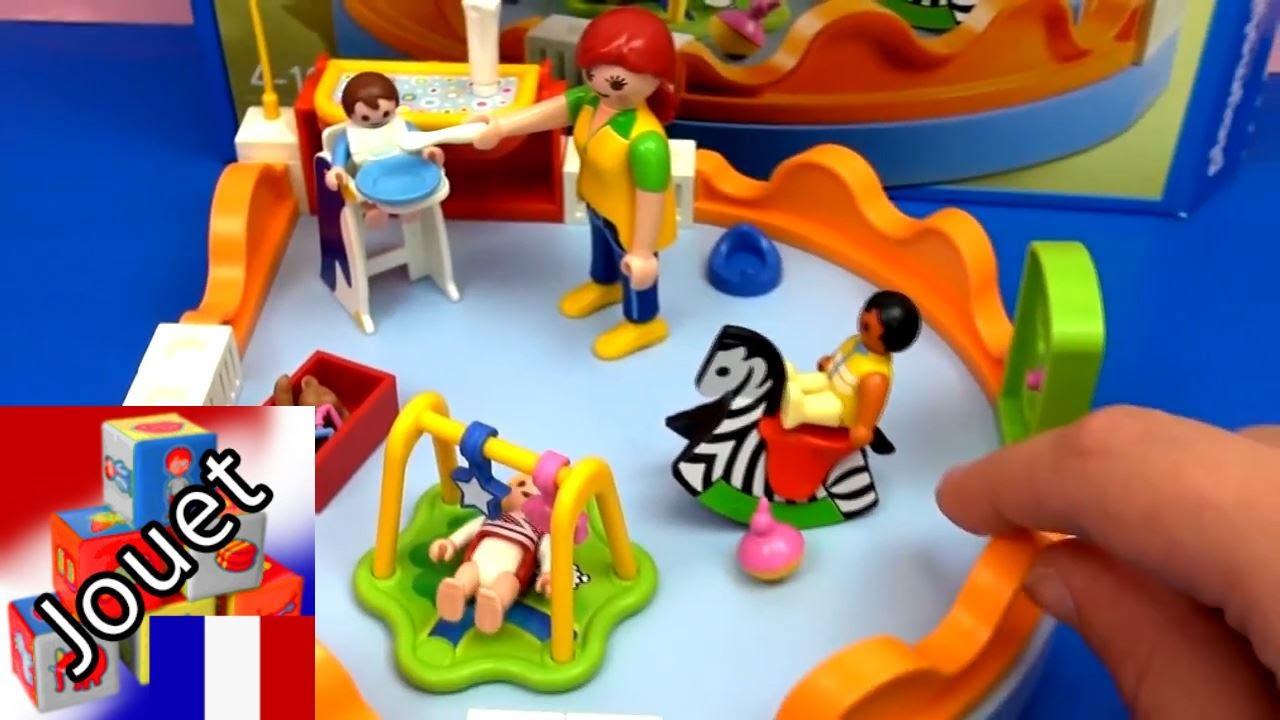 Playmobil City Life Jardin D'enfant/garderie Démo & Review En Français pour Grand Jardin D Enfant Playmobil