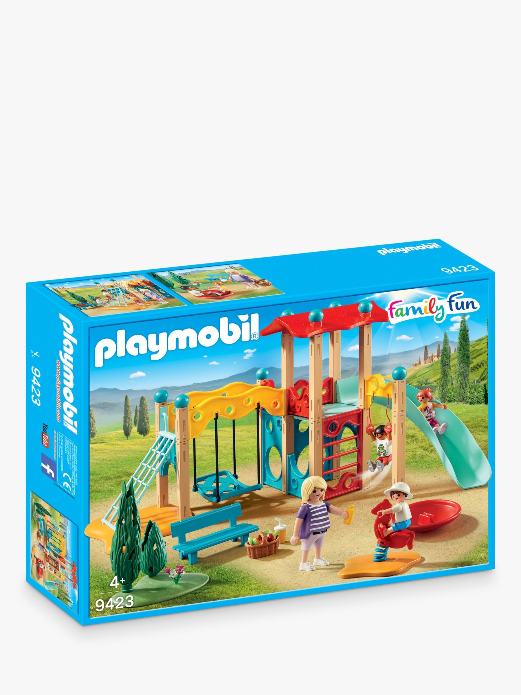 Playmobil Family Fun 9423 Park Playground | Playground Toys ... à Playmobil Jardin D Enfant