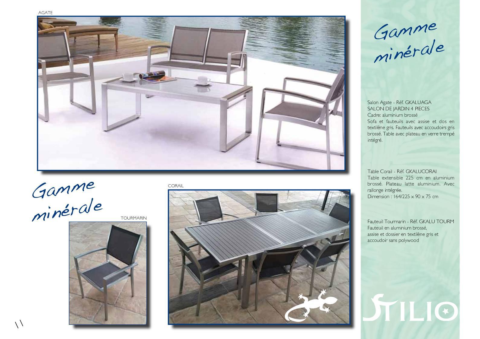 Plein Air 2018 - Calameo Downloader tout Salon De Jardin Aluminium Et Composite